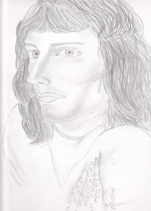Freddie Mercury by keiilapeppers